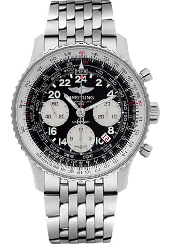Breitling Watches - Navitimer Cosmonaute Stainless Steel - Style No: AB021012/BB59-navitimer-steel