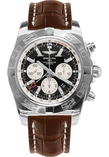 Breitling Watches - Chronomat GMT Croco Strap - Style No: AB041012/BA69-croco-brown-tang