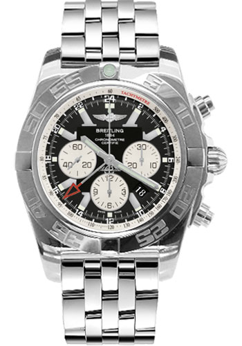 Breitling Watches - Chronomat GMT Stainless Steel Bracelet - Style No: AB041012/BA69-pilot-steel