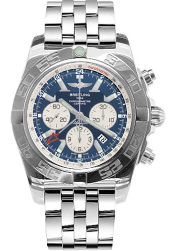 Breitling Watches - Chronomat GMT Stainless Steel Bracelet - Style No: AB041012/C834-pilot-steel