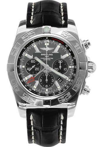 Breitling Watches - Chronomat GMT Croco Strap - Style No: AB041012/F556-croco-black-tang