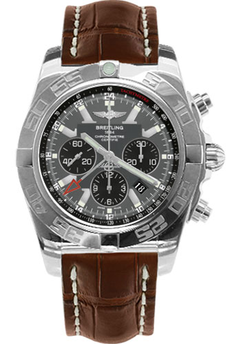 Breitling Watches - Chronomat GMT Croco Strap - Style No: AB041012/F556-croco-brown-tang