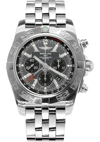 Breitling Watches - Chronomat GMT Stainless Steel Bracelet - Style No: AB041012/F556-pilot-steel
