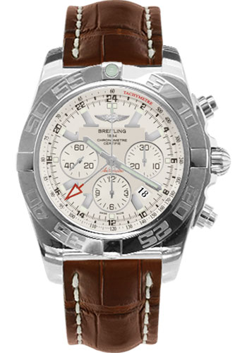 Breitling Watches - Chronomat GMT Croco Strap - Style No: AB041012/G719-croco-brown-tang