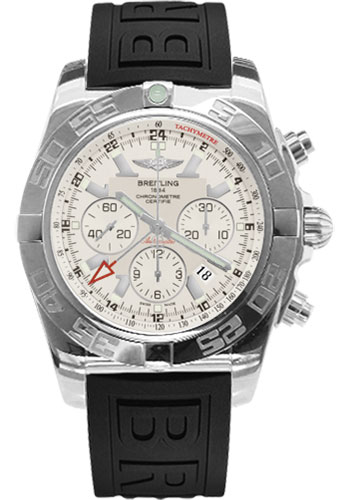 Breitling Watches - Chronomat GMT Rubber Strap - Style No: AB041012/G719-diver-pro-iii-black-tang