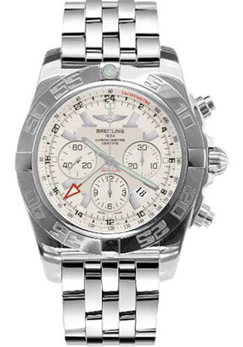 Breitling Watches - Chronomat GMT Stainless Steel Bracelet - Style No: AB041012/G719-pilot-steel