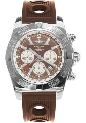 Breitling Watches - Chronomat GMT Rubber Strap - Style No: AB041012/Q586-ocean-racer-bronze-deployant