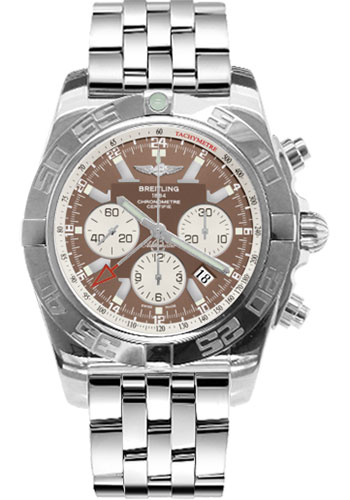 Breitling Watches - Chronomat GMT Stainless Steel Bracelet - Style No: AB041012/Q586-pilot-steel