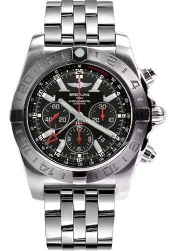Breitling Watches - Chronomat GMT Limited Edition - Style No: AB041210/BB48-pilot-steel-satin