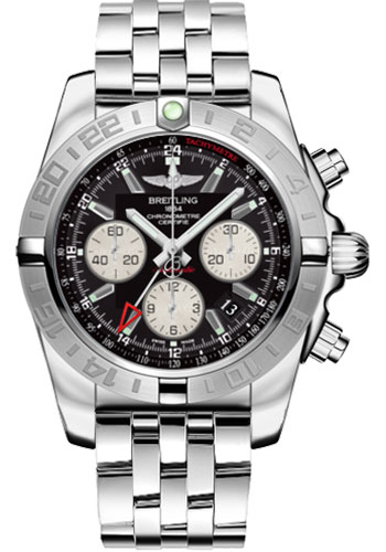 Breitling Watches - Chronomat 44 GMT Stainless Steel Bracelet - Style No: AB042011/BB56-pilot-steel