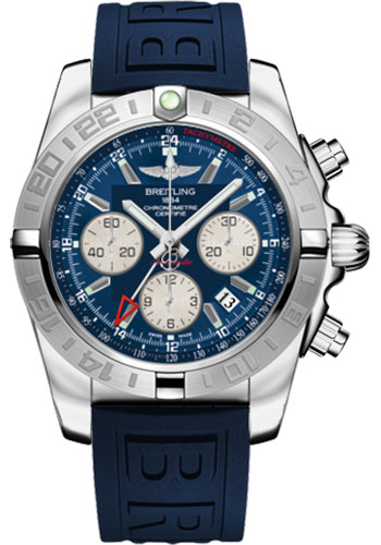 Breitling Watches - Chronomat 44 GMT Stainless Steel on Diver Pro III Tang - Style No: AB042011/C851-diver-pro-iii-blue-tang