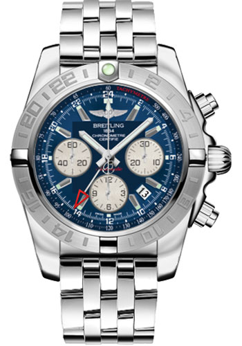 Breitling Watches - Chronomat 44 GMT Stainless Steel Bracelet - Style No: AB042011/C851-pilot-steel