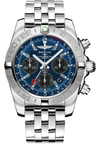 Breitling Watches - Chronomat 44 GMT Stainless Steel Bracelet - Style No: AB042011/C852-pilot-steel
