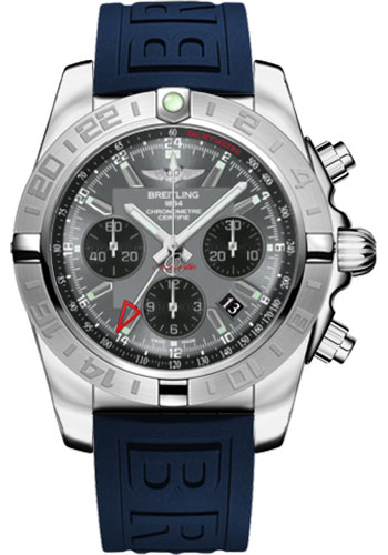 Breitling Watches - Chronomat 44 GMT Stainless Steel on Diver Pro III Tang - Style No: AB042011/F561-diver-pro-iii-blue-tang