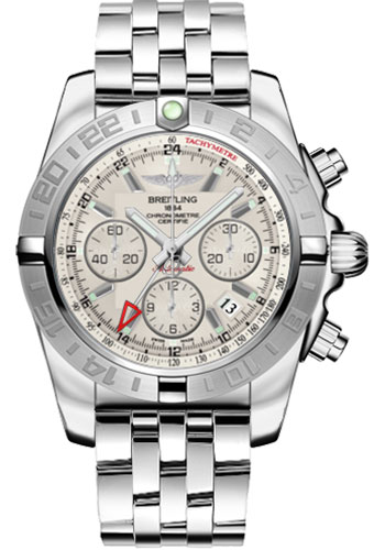 Breitling Watches - Chronomat 44 GMT Stainless Steel Bracelet - Style No: AB042011/G745-pilot-steel