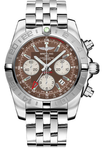 Breitling Watches - Chronomat 44 GMT Stainless Steel Bracelet - Style No: AB042011/Q589-pilot-steel
