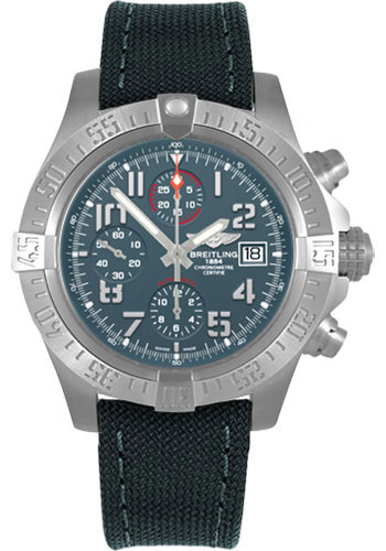 Breitling Watches - Avenger Bandit - Style No: E1338310/M534-military-rubber-anthracite-black-folding
