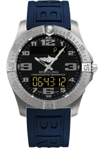 Breitling Watches - Aerospace Evo Diver Pro III Strap - Deployant Buckle - Style No: E7936310/BC27-diver-pro-iii-blue-deployant