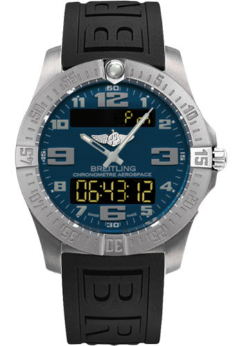 Breitling Watches - Aerospace Evo Diver Pro III Strap - Deployant Buckle - Style No: E7936310/C869-diver-pro-iii-black-deployant