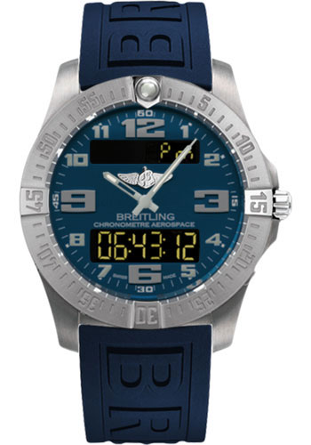 Breitling Watches - Aerospace Evo Diver Pro III Strap - Deployant Buckle - Style No: E7936310/C869-diver-pro-iii-blue-deployant
