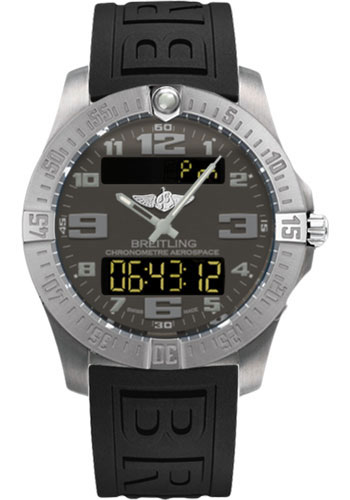 Breitling Watches - Aerospace Evo Diver Pro III Strap - Deployant Buckle - Style No: E7936310/F562-diver-pro-iii-black-deployant