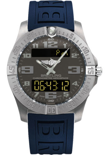 Breitling Watches - Aerospace Evo Diver Pro III Strap - Deployant Buckle - Style No: E7936310/F562-diver-pro-iii-blue-deployant