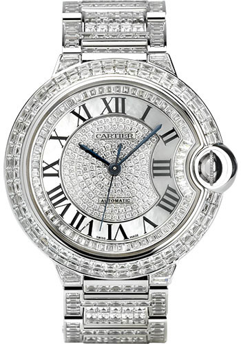 Cartier Watches - Ballon Bleu 42mm - White Gold - Style No: HPI00253