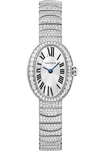 Cartier Watches - Baignoire Mini - White Gold - Style No: HPI00327