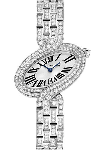 Cartier Watches - Delices de Cartier Small White Gold - Style No: HPI00458