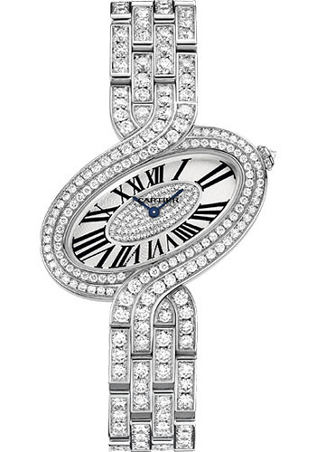 Cartier Watches - Delices de Cartier Large White Gold - Style No: HPI00459