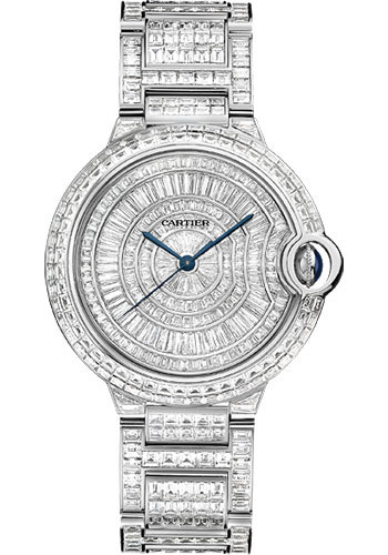 Cartier Watches - Ballon Bleu 36mm - White Gold - Style No: HPI00511