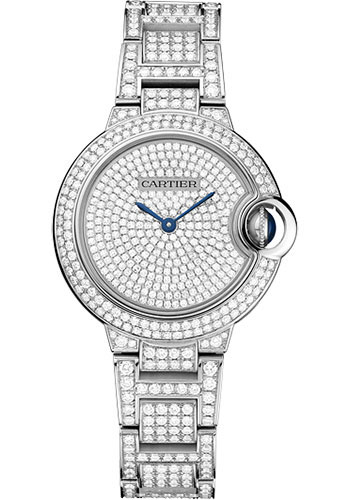 Cartier Watches - Ballon Bleu 33mm - White Gold - Style No: HPI00562