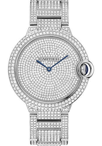 Cartier Watches - Ballon Bleu 42mm - White Gold - Style No: HPI00582