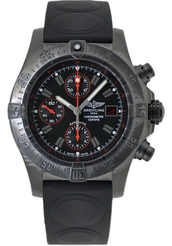 Breitling Watches - Avenger Blacksteel - Style No: M133802C/BC73-ocean-ii-black-folding