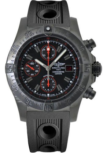 Breitling Watches - Avenger Blacksteel - Style No: M133802C/BC73-ocean-racer-black-folding