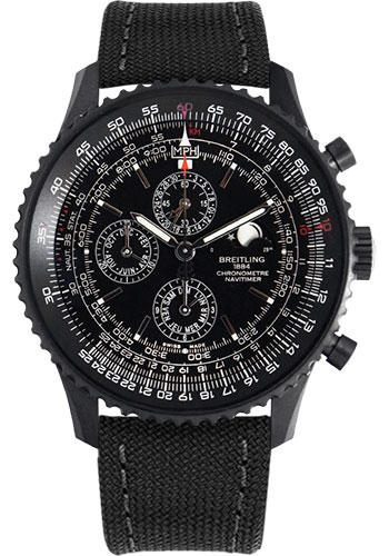 Breitling Watches - Navitimer 1461 - Style No: M1938022/BD20-military-black-tang