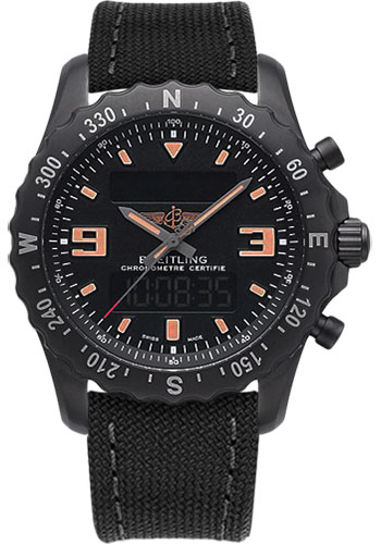 Breitling Watches - Chronospace Military - Style No: M7836622/BD39-military-anthracite-tang