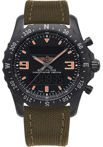 Breitling Watches - Chronospace Military - Style No: M7836622/BD39-military-khaki-green-tang