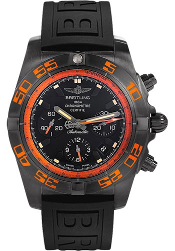 Breitling Watches - Chronomat 44 Raven - Style No: MB0111C2/BD07-diver-pro-iii-black-deployant