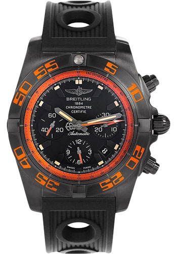 Breitling Watches - Chronomat 44 Raven - Style No: MB0111C2/BD07-ocean-racer-black-deployant