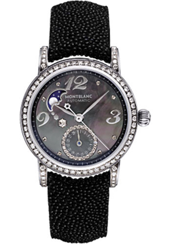 Montblanc Watches - Star Lady Automatic Moonphase Diamonds - Style No: 101627