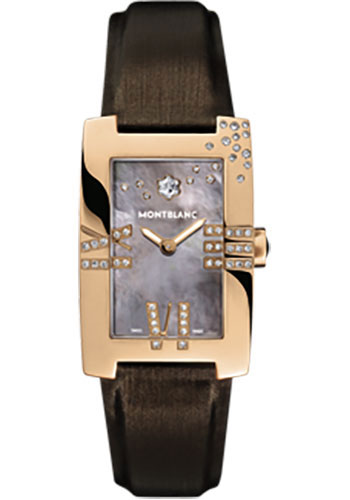 Montblanc Watches - Profile Lady Elegance Red Gold - Style No: 104256