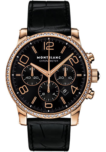 Montblanc Watches - Timewalker Diamonds Chronograph Automatic - Style No: 104282