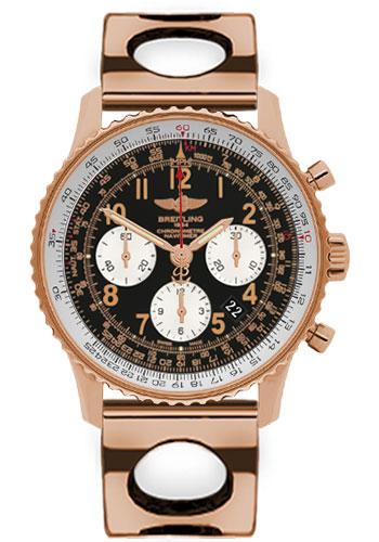 Breitling Watches - Navitimer 01 43mm - Red Gold - Air Racer Bracelet - Style No: RB012012/BB07-air-racer-red-gold