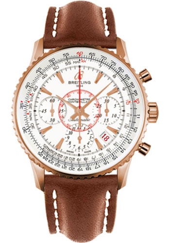 Breitling Watches - Montbrillant 01 Red Gold Limited Edition - Style No: RB013112/G710-leather-gold-deployant