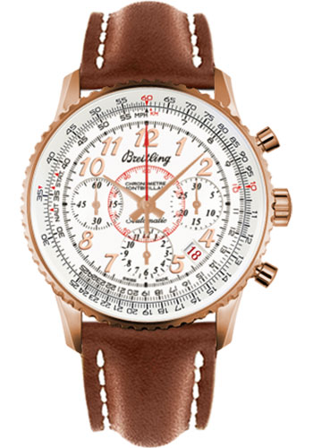 Breitling Watches - Montbrillant 01 Red Gold Limited Edition - Style No: RB013112/G736-leather-gold-deployant