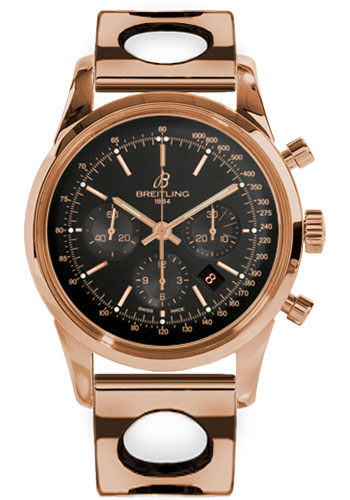 Breitling Watches - Transocean Chronograph Red Gold - Bracelet - Style No: RB015212/BB16-air-racer-red-gold