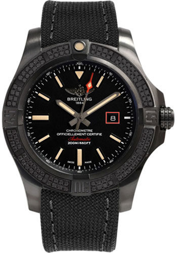 Breitling Watches - Avenger Blackbird 44 - Style No: V17311AT/BD74-military-anthracite-tang