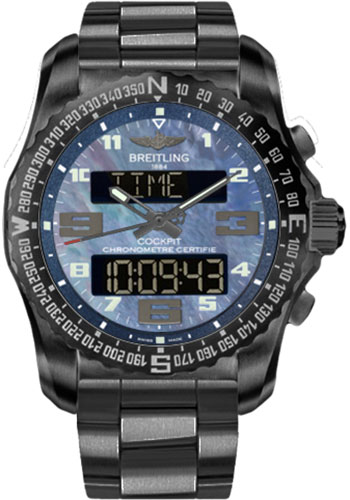Breitling Watches - Cockpit B50 Black Titanium Case - Professional III Bracelet - Style No: VB501019/C932-professional-iii-black-titanium