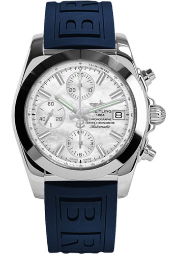 Breitling Watches - Chronomat 38 Tungsten Bezel - Diver Pro III - Deployant - Style No: W1331012/A774-diver-pro-iii-blue-pushbutton-folding